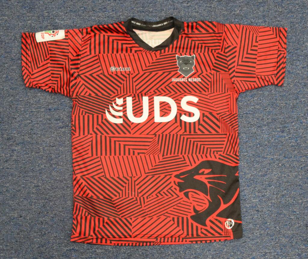 Impressão em jersey de futebol
