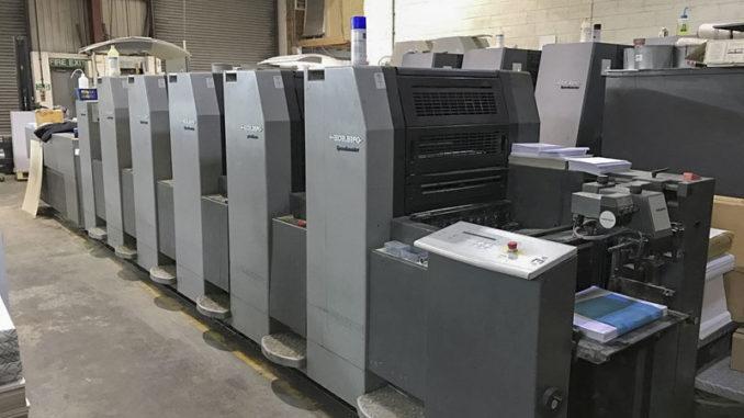 Maquinas para imprimir catálogos