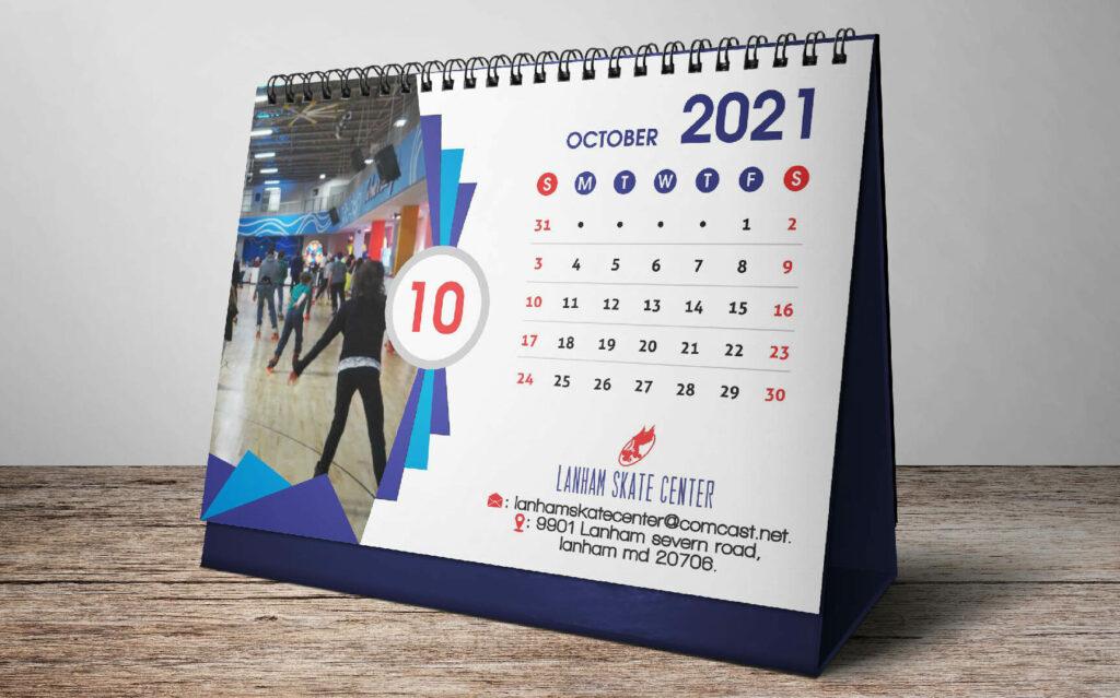 Imprimir calendários personalizados