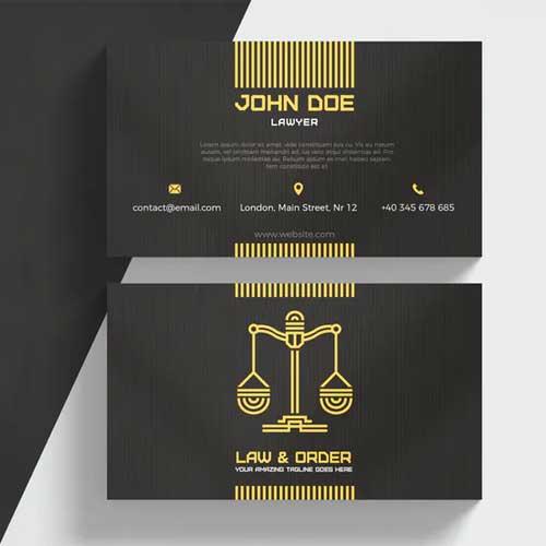 Imprimir Cartoes de visita Advogado