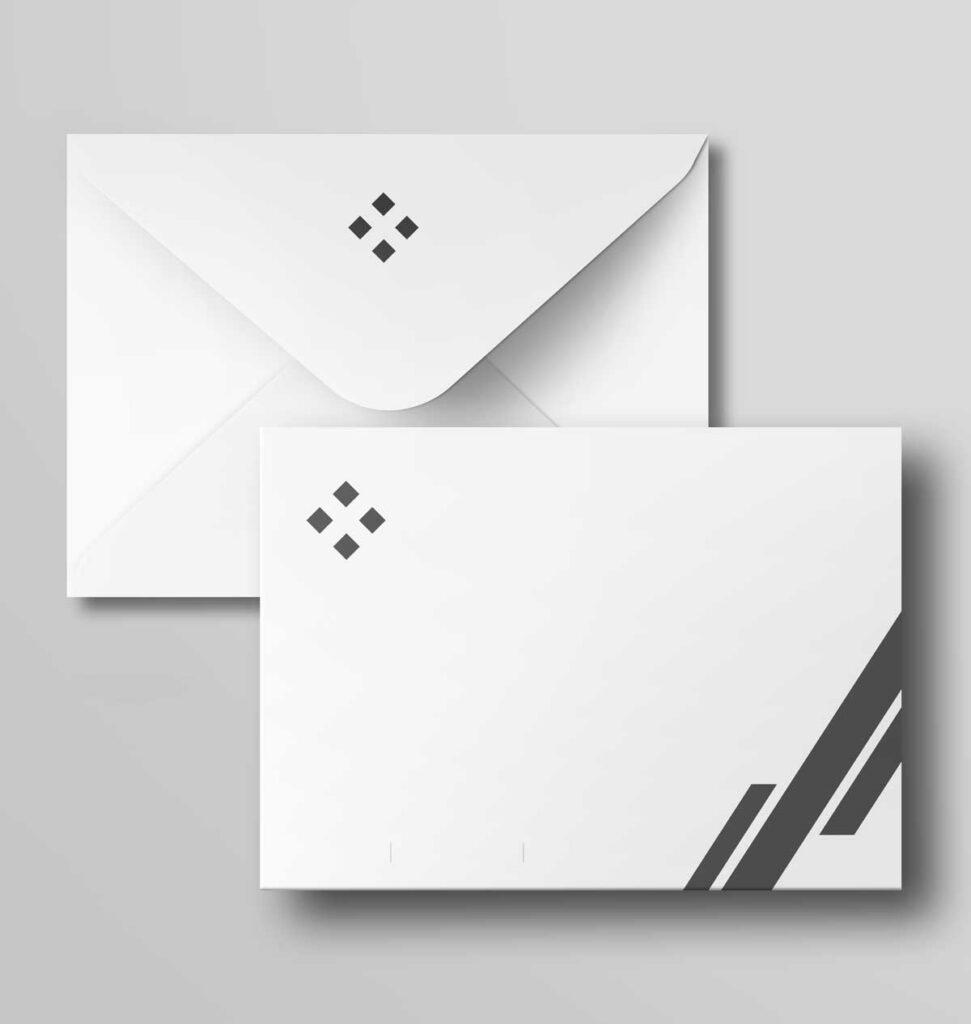Imprimir envelopes A5 personalizados.