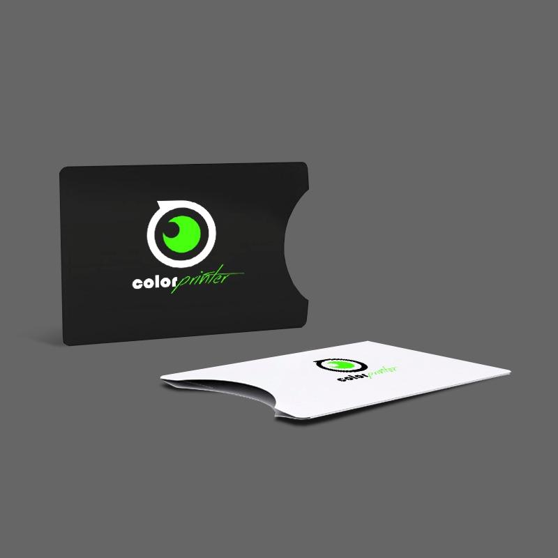 Envelopes de cartoes personalizados.