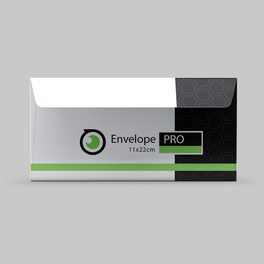 Imprimir envelopes profissionais personalizados.